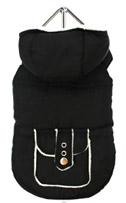 B+W Fleece-Lined Bodywarmer w/ Hood