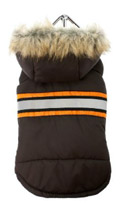 Brown Bodywarmer Coat for Chihuahuas