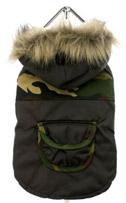 Camouflage Chihuahua Parka w/ Fur Hood