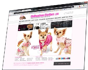 browse the Chihuahua Clothes Shop